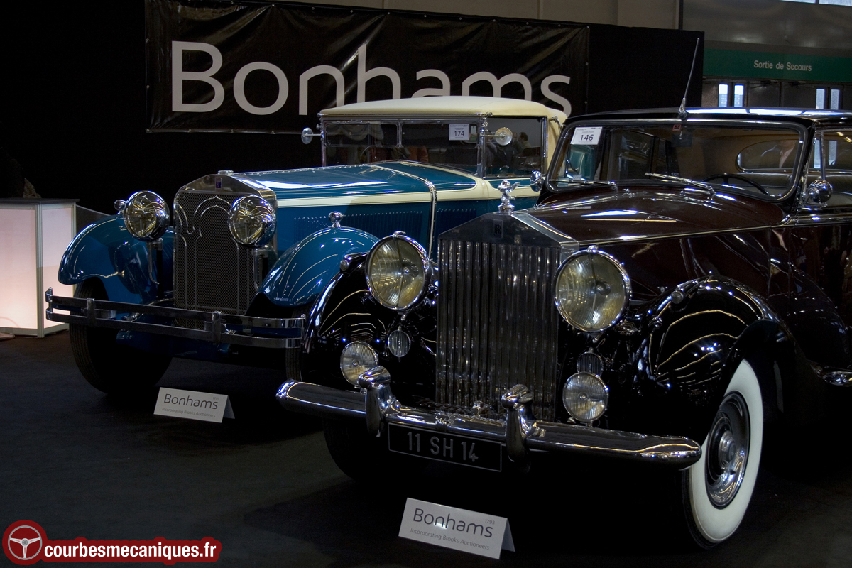 Isotta Fraschini Tipo 8A Roadster (1929) & Rolls-Royce Silver Wraith 4½-Litre Limousine (1953)
