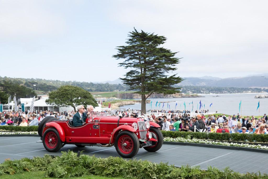 MilleMiglia Prewar Trophy - Pebble Beach Concours d'Elegance