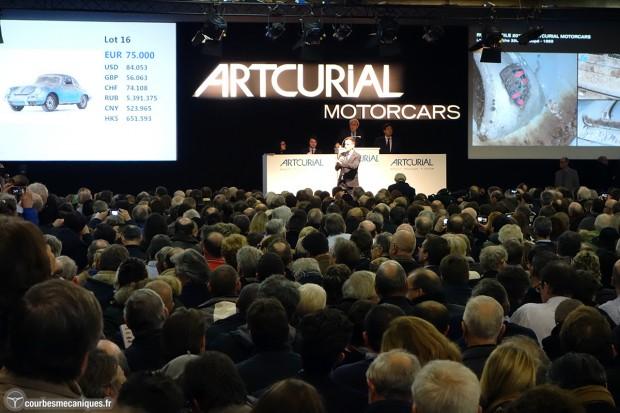 Résultats Vente Artcurial Paris 2015
