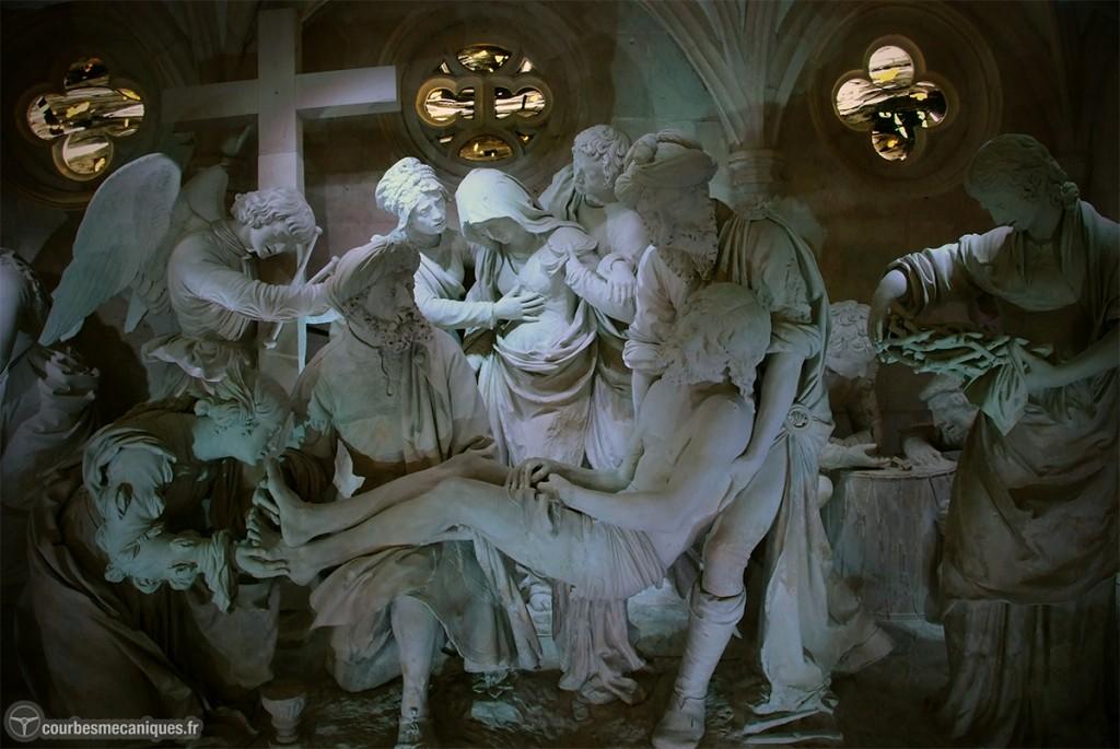 Ligier Richier, Le Sépulcre, XVIe siècle