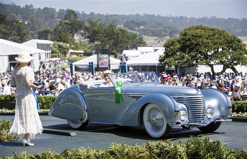 Gwenn Graham Most Elegant Convertible 2015 : Delahaye 145 Franay Cabriolet 1937 (Sam & Emily Mann, Englewood, New Jersey)