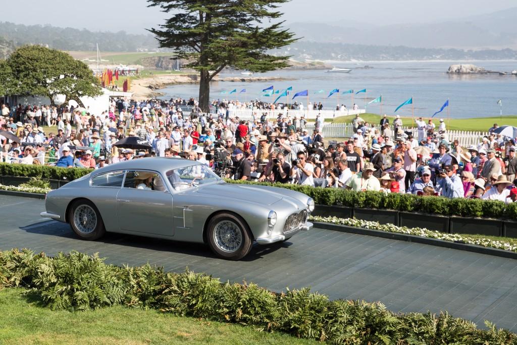 Special Award-Art Center College of Design Award : Maserati A6G 2000 Zagato Coupe 1955 (Jack Croul, Corona Del Mar, California)