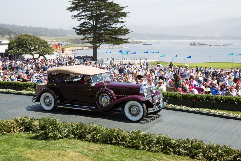 First in Class C-1 American Classic Open : Chrysler CG Imperial LeBaron Dual Cowl Phaeton 1931 (Aaron & Valerie Weiss, San Marino, California)