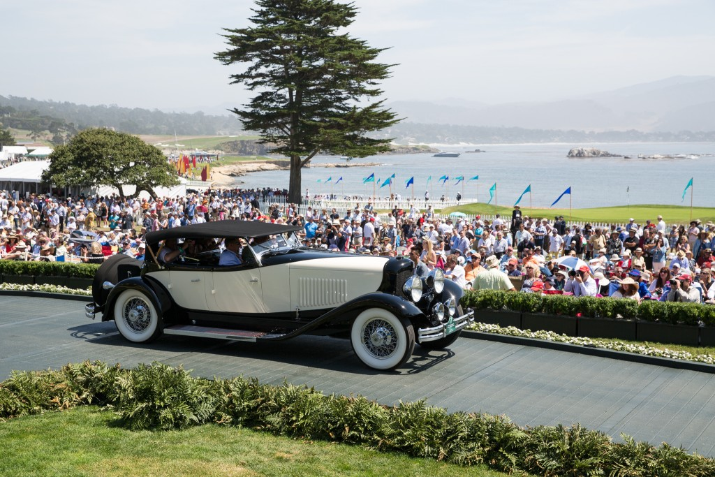First in Class D duPont and Special Award-Classic Car Club of America Trophy : duPont Model H Merrimac Sport Phaeton 1931 (Richard Riegel, Bedford Hills, New York)