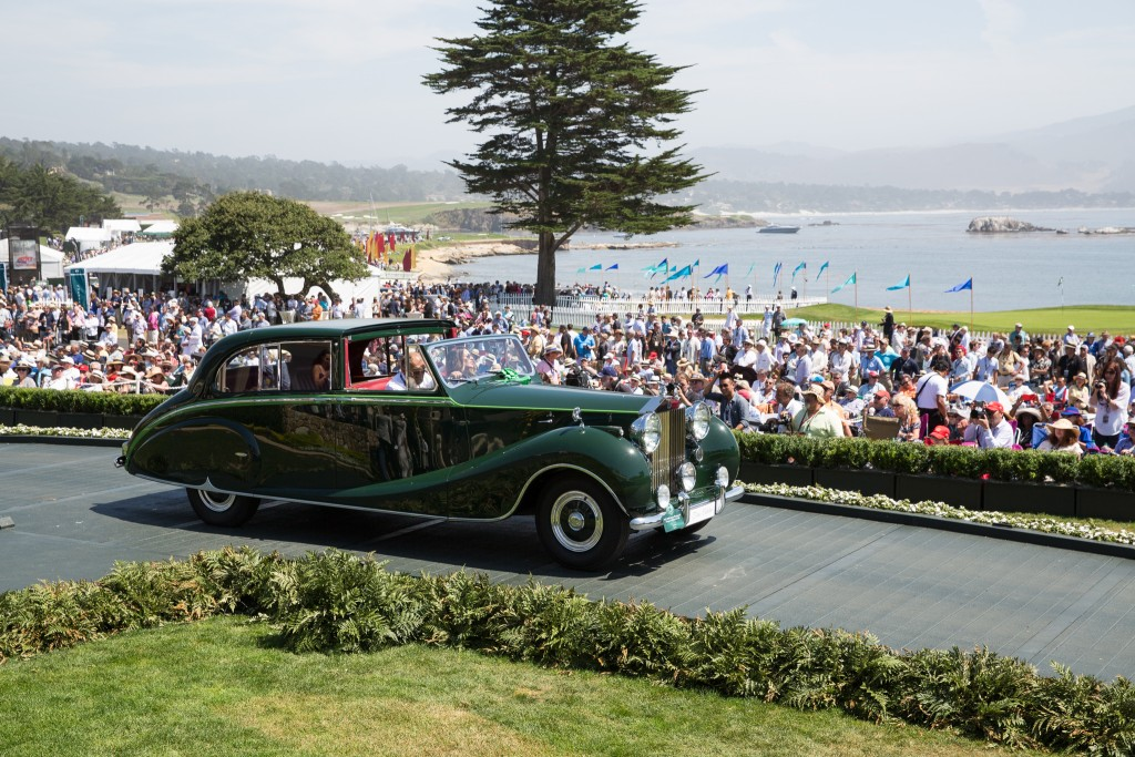 First in Class H-2 Rolls-Royce and Bentley Postwar : Rolls-Royce Phantom IV Hooper Sedanca de Ville 1952 (Ion Tiriac, Monaco)