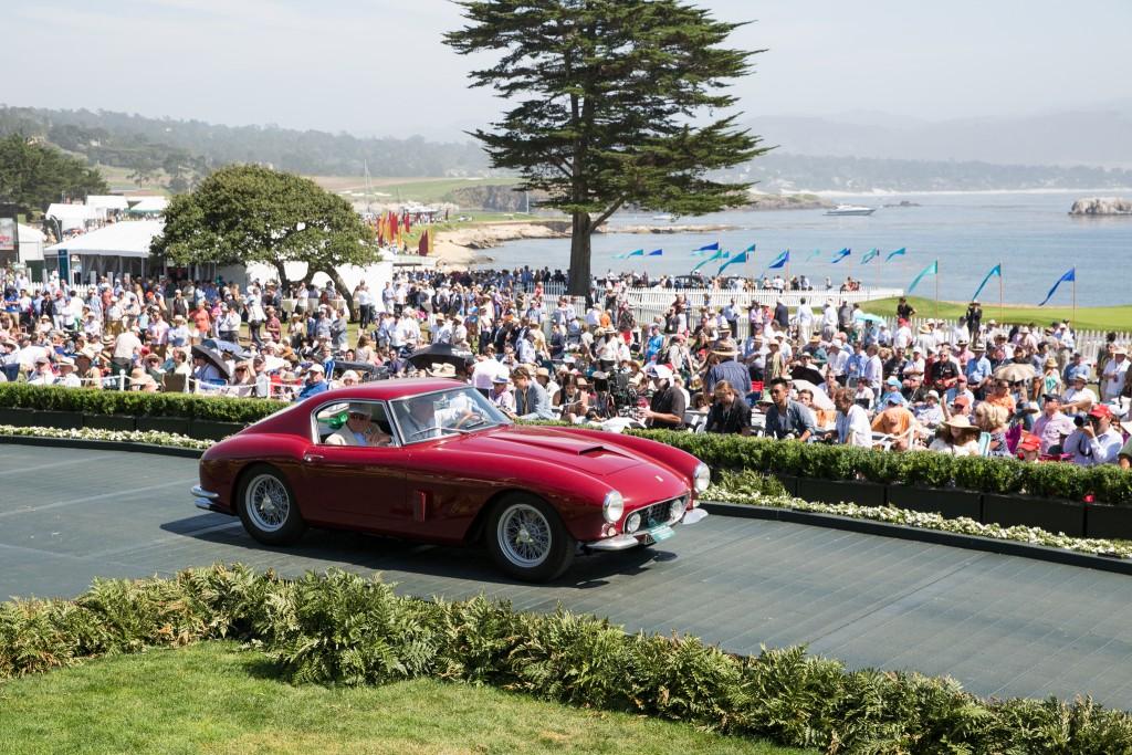 First in Class M-2 Ferrari Competition and Special Award-Enzo Ferrari Trophy : Ferrari 250 GT SWB Scaglietti Berlinetta Competizione 1960 (Big Fork Holdings, LLC., Menlo Park, California)
