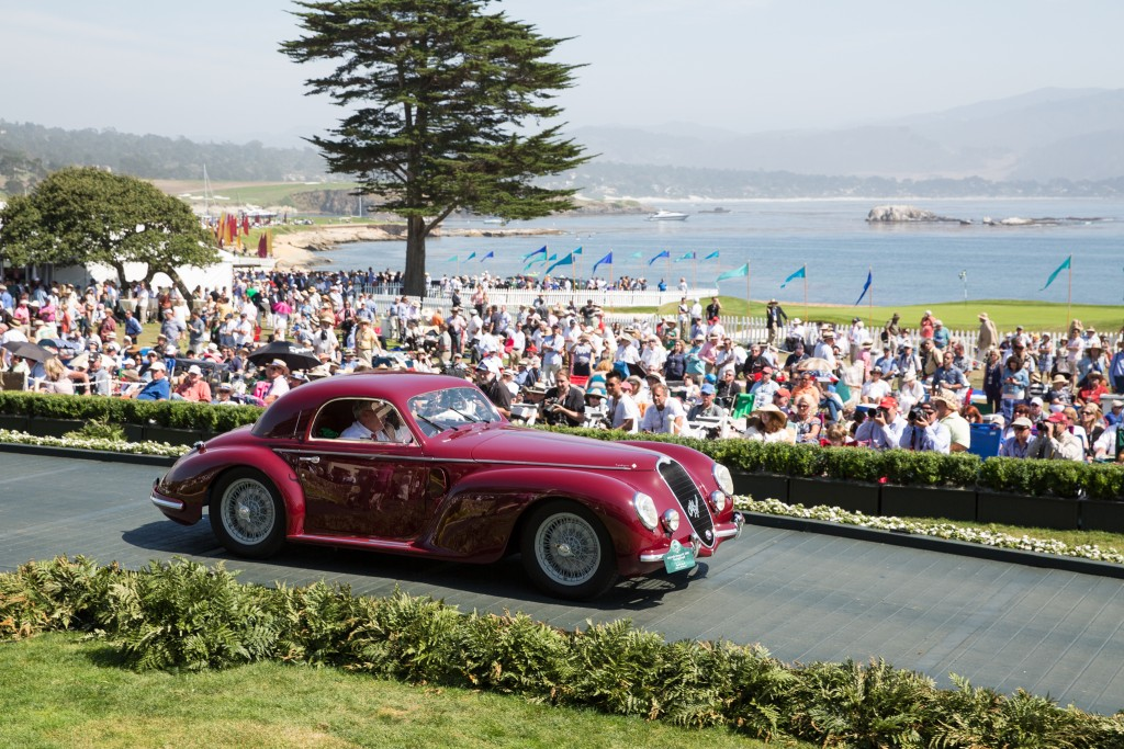 First in Class N Designs by Carrozzeria Touring and Special Award-Mille Miglia Pre-War Trophy : Alfa Romeo 6C 2500 Touring Coupé 1939 (David B. Smith, Medina, Washington)
