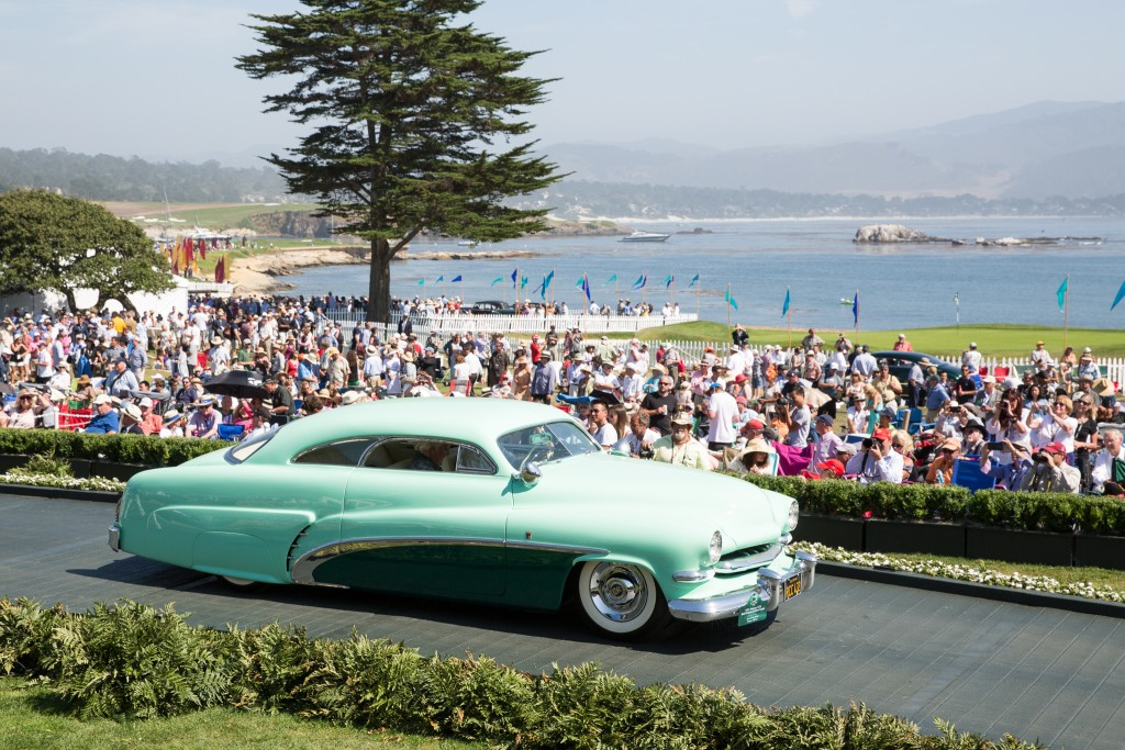 First in Class R Mercury Customs and Special Award-Dean Batchelor Trophy : Mercury 1CM Bob Hirohata Custom Coupe 1951 (Jim and Sue McNiel, Orange, California)