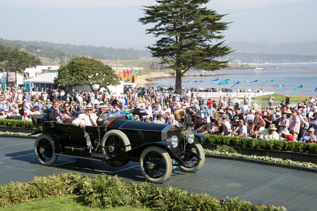Most Elegant Open Car 2015, First in Class A-1 Antique and Special Award-The Revs Program at Stanford Award : Rolls-Royce Silver Ghost Kellner Torpedo Phaeton 1914 (Doug Magee Jr., Wolfeboro, New Hampshire)