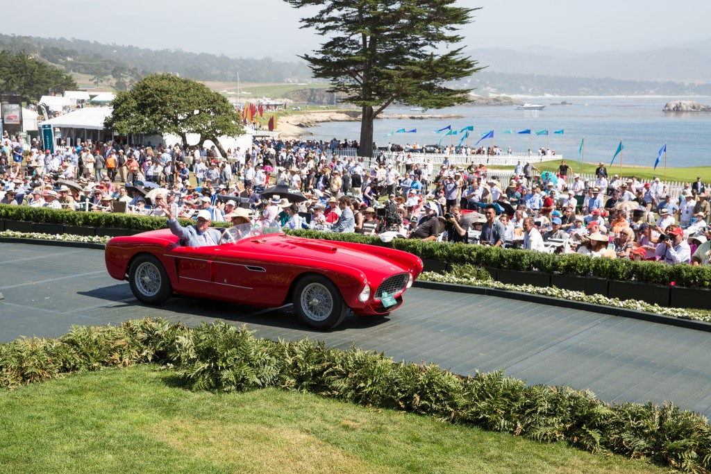Special Award-The Phil Hill Cup : Ferrari 340 Mexico Vignale Spyder 1952 (Les Wexner, New Albany, Ohio)