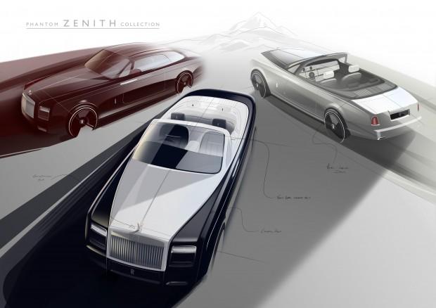 Rolls-Royce Phantom VII édition Zenith