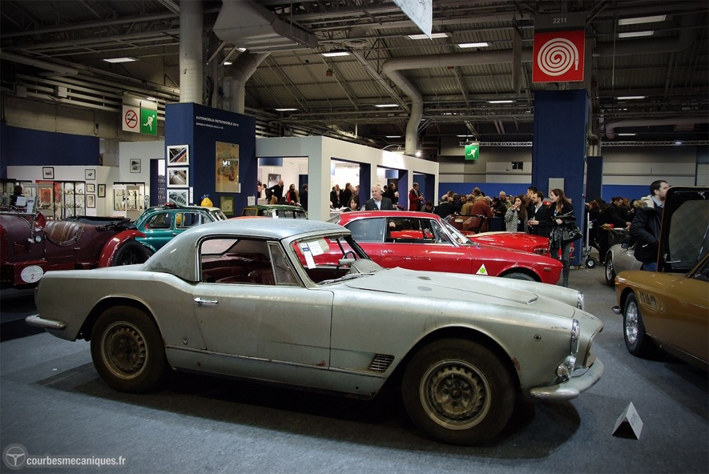 Lot 136     1960 Maserati 3500 GT Vignale Spyder Capot Long 548 320 €