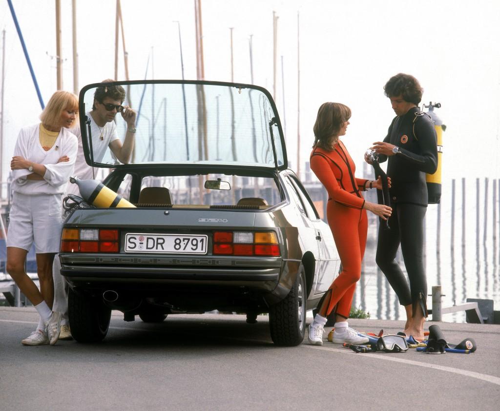 Porsche 924 (1980), photo de la brochure d'époque