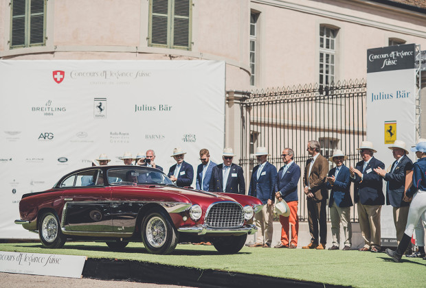 Concours d'Élégance Suisse 20192019 : Best of Show