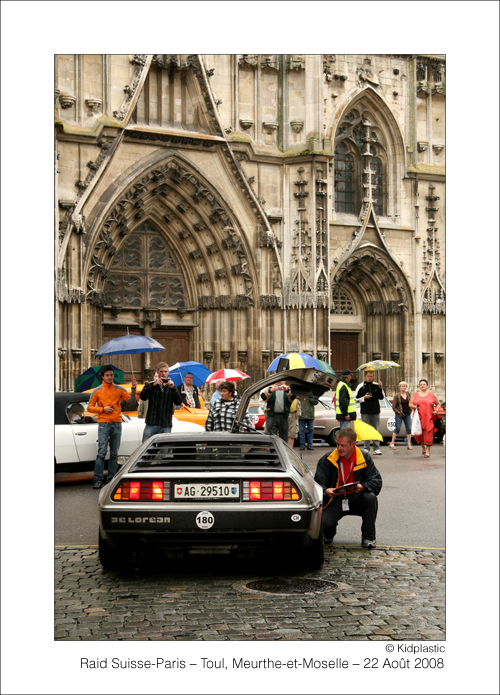 DeLorean – Raid Suisse-Paris