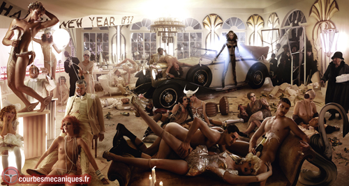 "David LaChapelle portrays Maybach: ""Berlin Stories"""