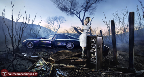 "David LaChapelle portrays Maybach: ""Exposure of Luxury"""